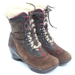 J-41 Adventure On Pacific brown suede winter boot